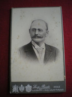 PHOTO CDV - Portrait De Jules Huguenin, Photo Leopold Bude, Graz  (autriche). - Persone Identificate