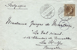Luxembourg - Luxemburg -  Lettre 1940 Envoi Luxembourg Vers Bruxelles - Luxemburgo