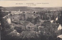 SAUCOURT (Haute-Marne): L'usine Jacquemin Et Le Village - Andere Gemeenten