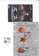 CHAMPIONNATS DU MONDE DE KARATE - 2012 - BLOC 3 TIMBRES - PARIS 2012 - PREMIER JOUR FDC - Altri