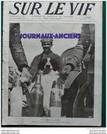 """1916 WW1 - NOS CHIENS DE GUERRE - ÉVASION L'AVIATEUR GILBERT - AVION ALLEMAND DIT """" FOKKER """" - GALLIÉNI  FUNÉRAILLES - Otros"""