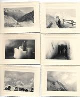 Chamonix - Mont Blanc ( Lot De 15 Photos ) 11 X 9 - Pas De Légende Au Verso Années 50 - Lugares