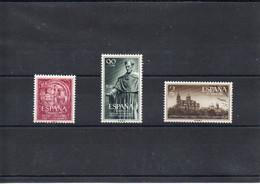 España Nº 1126-28 Universidad De Salamanca MNH - Collections
