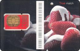 Thailand Phonecard GSM True Old Mint Erdbeeren - Thailand