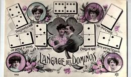 Thèmes > Fantaisies > Langages  DES  DOMINOS  /LOT 494 - Otros