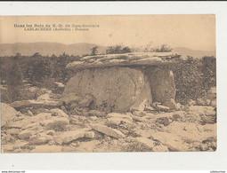 LABLACHERE DOLMEN DANS LES NOIS N . D BON SECOURS CPA BON ETAT - Dolmen & Menhirs