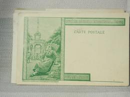 BOTTERESSE - LIEGE EXPO 1905- PRECURSEUR VOYAGEE  - OBLIT LIEGE + CHATELINEAU 1902 - BE - DESSIN LEJEUNE EN VERT - Lüttich