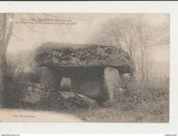 REIGNIER LA PIERRE AUX FEES ANCIEN DOLMEN GAULOIS CPA BON ETAT - Dolmen & Menhirs