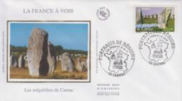 Enveloppe  FDC  1er  Jour  FRANCE    Les  Mégalithes  De  CARNAC    2006 - 2000-2009