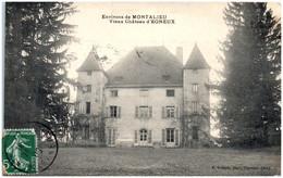38 Environs De MONTALIEU - Vieux Chateau D'Egneux - Other Municipalities