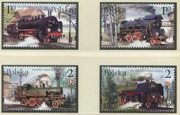 POLEN / MiNr. 3997 - 4000 / Alte Dampflokomotiven Aus Dem Eisenbahnmuseum Wolsztyn London / Postfrisch / ** / MNH - Trenes