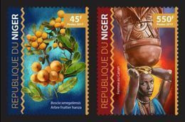 NIGER 2017 - Definitive Stamps - Mi 4843-4 - Niger (1960-...)
