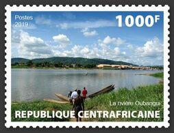 CENTRAL AFRICA 2019 - Oubangui River, 1v. Official Issue [CALC190101a] - Zentralafrik. Republik