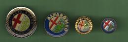 ALFA ROMEO *** LOGO *** Lot De 4 Pin's Differents *** 2010 - Alfa Romeo