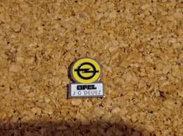 PINS AUTOMOBILE OPEL GARAGE DEUEZ - Opel