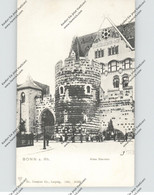 5300 BONN, Altes Sterntor, Rheinischer Hof, Belebte Szene, 1904, Trenkler - Bonn