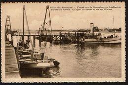 Burcht - Antwerpen - Vertrek Van De Overzetboot En Scheldezicht / Départ Du Bateau Et .. - Uitg. Em. Beernaert - 2 Scans - Antwerpen