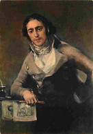 Art - Peinture - Goya - Portrait De M Castro - CPM - Voir Scans Recto-Verso - Paintings