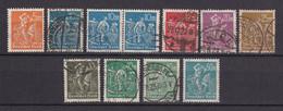 Deutsches Reich - 1922/23 - Michel Nr. 238/245 - Gestempelt/Postfrisch - Oblitérés