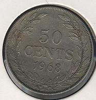 Liberia, 50 Cents 1968 - Liberia