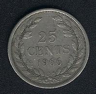 Liberia, 25 Cents 1966 - Liberia