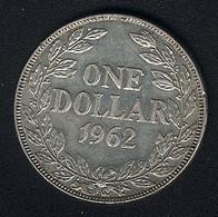 Liberia, 1 Dollar 1962, Silber, XF - Liberia