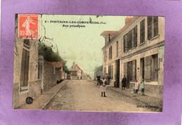 60 FONTAINE LES CORPS NUDS   Rue Principale - Frankreich