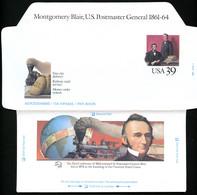 UC62 PSE Aerogramme MONTGOMERY BLAIR Mint 1989 - 1981-00