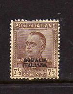 Somalie (1928-30) - Victor-Emmanuel III  -  Neufs* - Somalia
