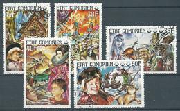 Comores YT N°145/149 Contes Pour Enfants Oblitéré ° - Isole Comore (1975-...)