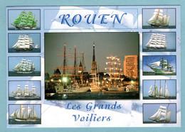 CP 76 -  Rouen - Les Grands Voiliers - Multivues - Sailing Vessels