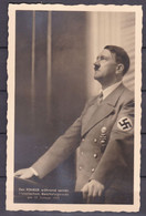Deutsches Reich - 1939 - Bildkarte - Der Führer Während Seiner Historischen Reichstagsrede Am 30 Januar 1939 - Gebruikt