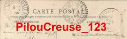 """87 Haute Vienne - LA ROCHE L'ABEILLE - """"CAD Type 22 Du 03/11/1904 Sur CPA BRETEAU """" Château Du Muguet'"""" - Other"""