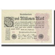 Billet, Allemagne, 2 Millionen Mark, 1923, 1923-08-09, KM:104a, SPL - 2 Millionen Mark