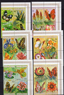Burundi - Butterflies Insects On Stamps - MNH** Del.7 - Mariposas
