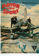 Junkers JU 87  -  Motor Und Sport - Winter Und Sommer - Publicité 1942  -  CPM - 1939-1945: 2a Guerra