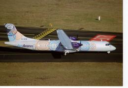 AerArann  -  ATR.72-500  -   C/n 760 At Paris CDG 2011 -  CPM - 1946-....: Moderne
