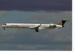 Brit Air/Air France    -  Bombardier CRJ-1000NG -   F-HMLA C/n 19004 At Paris-Orly 2011   -  CPM - 1946-....: Moderne