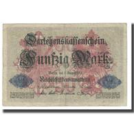 Billet, Allemagne, 50 Mark, 1914, 1914-08-05, KM:49a, TB - 50 Mark