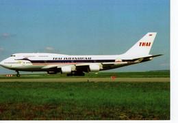 Thai International    -  Boeing B.747-400 -   HS-TGP C/n 26610 At Paris CDG 2010 -  CPM - 1946-....: Moderne