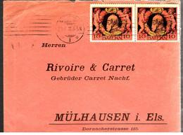 37997 - Enveloppe Commerciale  Pour L'Alsace - Bavière
