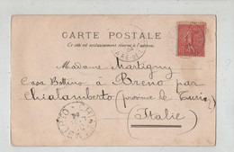 Martigny Casa Bottino Breno Chialamberto  1904 Paris Rue De Rivoli - Genealogie