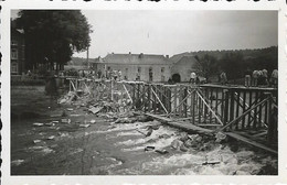 Bomal Sur Ourthe: Photo 1940: Le Pont Détruit. - Durbuy