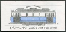 Sweden / Sverige: Sc# 2131a - 1985 - 37,50 Kr. Booklet -  Trams/Sparvagner MNH - 1981-..