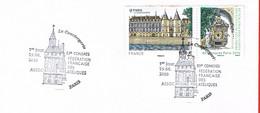 France. Paris. La Conciergerie. 83ème Congrès De La FFAP. 2010 - Commemorative Postmarks