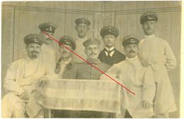 Carte Photo. Lazarett . Strasburg Westpreussen(Brodnica) Nach Greifswald .  Soldats Allemande Guerre 14-18.WWI - Westpreussen