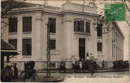 CPA AK VIETNAM TONKIN Hanoï - Travaux Publics (61056) - Vietnam