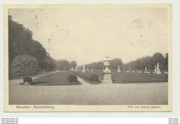 AK  München Nymphenburg Park Vom Schloss Aus Gesehen 1918 - Muenchen