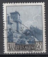"""San Marino 1966 Uf. 716 Vedute : Torre """"GUAITA"""" Viaggiato Used - Gebraucht"""