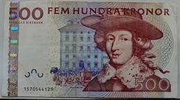 SWEDEN 500 Kronor Banknote - Svezia